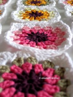 free ebook: 'how to crochet: 14 flower crochet granny squares'. more info at about crochet