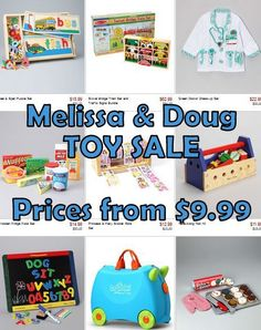 MamaCheaps.com: MELISSA and DOUG TOY SALE – Prices from $9.99