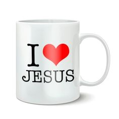 Mug I Love Jesus for sale €5.50 #mug #forsale #jesus