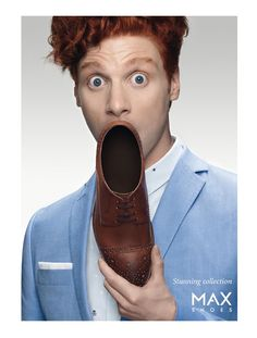 Advertising Campaign: MAX Shoes – Stunning Collection