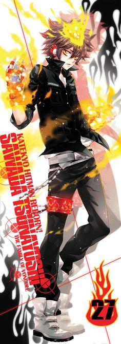 Sawada Tsunayoshi XD kakoiii