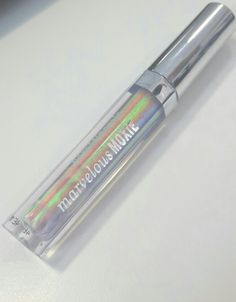 Bare Minerals Marvelous Moxie Holographic Lipgloss comes in three shades - Illusionist, Hypnotist, and Enchantress.