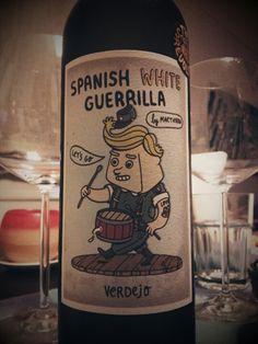 Spanish White Guerrilla Verdejo