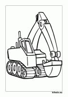 Ausmalbilder Bagger - New Ideas Cute Crafts, Crafts For Kids, Arts And Crafts, Detailed Coloring Pages, Digger, Vinyl Art, Woodland Party, Painted Rocks, Quilt Blocks