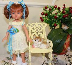 Ателье для Белочки. Игровые куклы Антонио Хуан, 32 см. Эмили / Куклы Antonio Juan, Антонио Хуан / Бэйбики. Куклы фото. Одежда для кукол