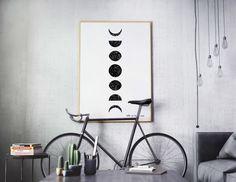 FREE Printable Moon Phase Poster