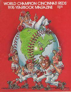 1976 Cincinnati Reds Yearbook