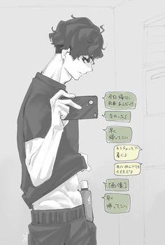 Haikyuu Ships, Haikyuu Fanart, Haikyuu Anime, Hot Anime Boy, Cute Anime Guys, Miya Atsumu, Kurotsuki, Japon Illustration, Kuroken