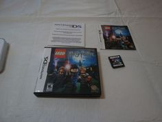 LEGO Harry Potter: Years 1-4 (Nintendo DS, 2010) GAME boy CASE insert GUC RARE #Nintendo