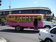 Samoa's Transportation: They use a lot of very decorated buses!