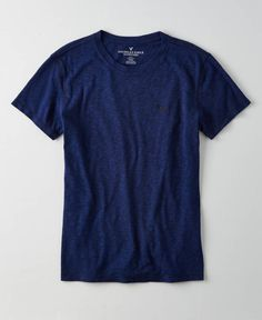 AEO Slim Legend Crew T-Shirt, Men's, Midnight Blue