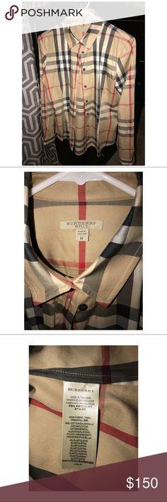 Burberry Brit Burberry Brit button up blouse Burberry Tops Button Down Shirts