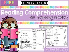 FREE Reading Comprehension For Beginning Readers (Multiple Choice)5 Free Kindergarten Reading Comprehension…