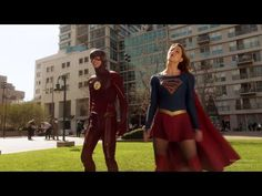 Supergirl 1x18: Barry and Kara #10 [Supergirl x The Flash Crossover] - YouTube