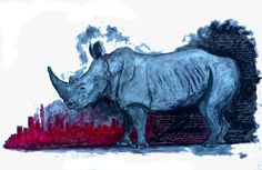 How The Rhino Got His Skin (it turned out he couldn't have his cake and eat it) Got Him, Moose Art, Eat, Animals, Animales, Animaux, Animal Memes, Animal, Animais