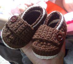 Boys n' Girls Loafers Crochet Pattern by PurplishHook on Etsy, $3.50