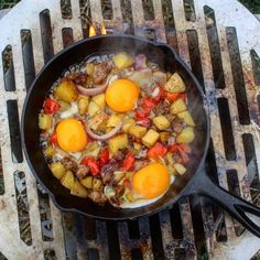 Campfire Breakfast Skillet - Cowboy Charcoal