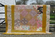 Welsh Country Patchwork   Patchworks   Welsh Country Patchwork from Jen Jones Welsh Quilts & Blankets