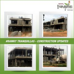 ‪#‎ConstructionUpdate‬ Feeling Happy to update ‪#‎RamkyTranquillas‬ Construction progress. Committed to Quality and Promising the Future. For more info visit – www.ramkytranquillas.com