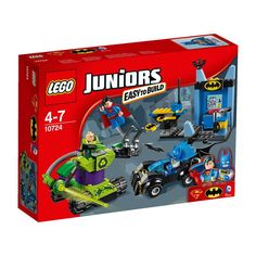 LEGO Juniors DC Comics Super Heroes Batman & Superman vs. Lex Luthor 10724 image-0