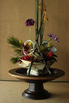 Interesting floral creation.