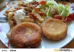 Czech Recipes, Ethnic Recipes, Baked Potato, Muffin, Potatoes, Snacks, Meat, Chicken, Baking