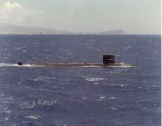 USS Tunny (SSN-682) underway off Oahu, date unknown.