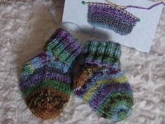 Funky Infant Cuffed Socks by funkybabynation on Etsy