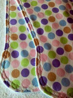Sweet Baby Girl Burp Cloth Set.