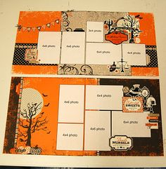 Not only would this be a great LO for #CTMH Mischief kit, but this site has a ton of other cute layouts!