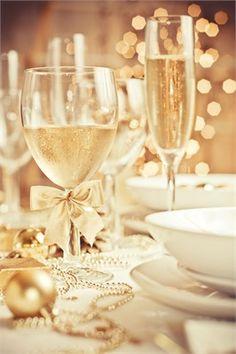 cutest ribbon wineglasses  wedding decoration <3    see more cute wedding stuff at ispyawedding.com