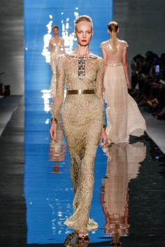 REEM-ACRA=Beautiful Gold gown..
