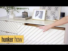 Do you own Ikea's Duktig — the kid's play kitchen? If so, check out these 16 insanely gorgeous DIYs to make the toy even cooler. Ikea Dresser Hack, Six Drawer Dresser, Wood Dresser, Diy Ombre, Ikea Furniture Hacks, Furniture Makeover, Ikea Hacks, Ikea Kitchen, Kitchen And Bath