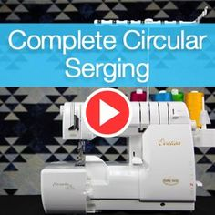 Complete Circular Serging Superior Thread - You-Tube Video with Sue Green-Baker