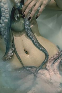 the octopus woman by dobbisal lozare