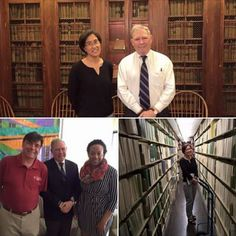 GPO's General Counsel Drew Spalding visits libraries at Temple University.