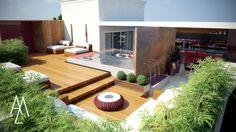 ➡️ www.angelameza.com.br   ➡️  www.facebook.com/Angelameza.arquitetura   ➡️ https://instagram.com/angelamezaarq/          ..........Cobertura, Deck, Piscina, Jardim, Sauna, Lounge Penthouse, Pool, Garden