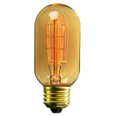 Antique Radio Tube Style Light Bulb. Yes, pure hell for the environment - but so pretty. $3.69