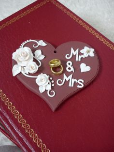 Hand Crafted Polymer Clay Wedding Favor Home by DesignsByDenisa, £15.00