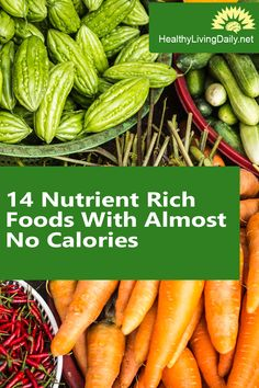 14 Nutrient Rich Foods With Almost No Calories 🍌🥑🥕🥦😍   Read this article to find out the 14 foods rich in nutrients that are low in calories.   #nutrientrichfoods #lowcaloriefoods #antioxidants #vitamins #minerals #onions #cucumbers #celery #brusselssprouts #apples #oranges #cabbage #zucchini #cauliflower #kale #carrots #broccoli #asparagus #watermelon #healthylivingdaily #followme #follow