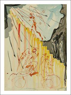 Dali, Divine Comedy, Inferno