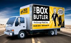 Vehicles are another good way to advertise. They can be moving billboards! However, like regular billboards they shouldn't be too cluttered or distracting to drivers.