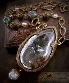 Lyra Parrish Quartz with Inclusions Gothic Arch by ParrishRelics