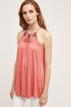 Love this in black and bought it! Taren Tank from Anthropologie.