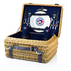 The Toronto Blue Jays Champion Picnic Basket with picnicking service for two