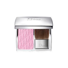 Dior 001 Rosy Glow Rosy Glow Healthy Glow Awakening Blush ($44) ❤ liked on Polyvore featuring beauty products, makeup, cheek makeup, blush, rosy glow and christian dior