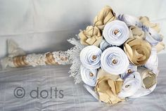 #DIY paper flower #bouqet - do!ts magazine, page 13