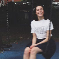 turns out you can't really take a sharp photo whilst swinging @ashlin1025