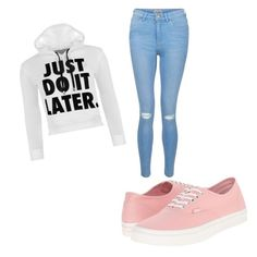 """""""Untitled #82"""" by tia12502 on Polyvore featuring Vans, New Look and WearAll"""