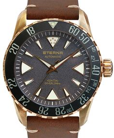 Eterna also launched a bronze model for this year's Baselworld 2017. Namely the KonTiki Bronze Manufacture with a textured granite-patterned dial. Discover it on our site.